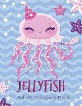 Jellyfish Adult Coloring Book