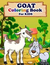 GOAT Coloring Book For Kids
