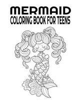 Mermaid Coloring Book For Teens