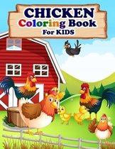 CHICKEN Coloring Book For Kids