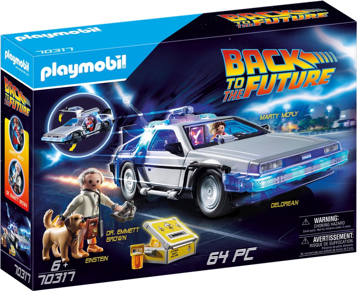PLAYMOBIL Back to the Future DeLorean - 70317