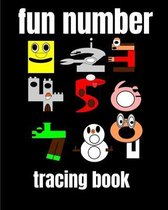 fun number tracing book