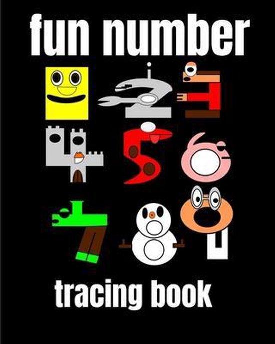 fun number tracing book
