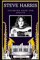 Steve Harris Coloring Book for Adults