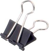 Papierklem MAUL 213 Foldback 19mm capaciteit 7mm zwart