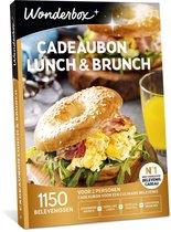 Wonderbox Cadeaubon - Lunch & Brunch