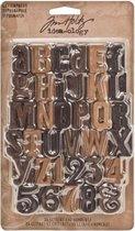 Idea-ology • Tim Holtz letterpress