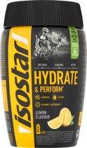Isostar Hydrate & Perform Sportdrank - Lemon - Poeder - 400 gram