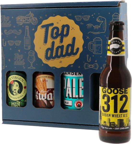 HOPT - Vaderdag Bierpakket - 4 x 33 cl - Biercadeau