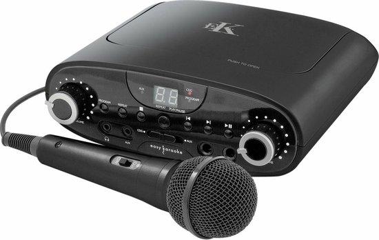 N-GEAR -EASY KARAOKE Bluetooth machine + microfoon CD/CDG