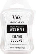 Woodwick Wax Melt Island Coconut 3 stuks