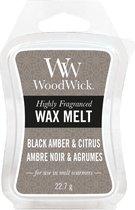 Woodwick Black Amber & Citrus Wax Melt