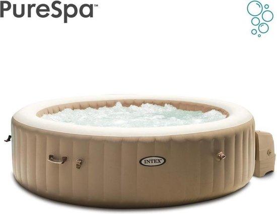 Intex Pure Spa Bubble - Sahara jacuzzi - 216x71 cm - 6 personen