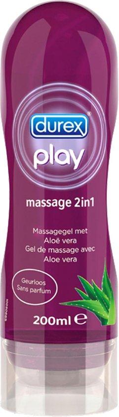 Durex Play Massage en Glijmiddel 2 in 1 Aloe Vera - 200 ml
