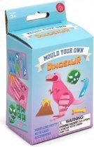 Thumbsup! Knutselset Vorm Je Eigen Dinosaurus 7 Cm Roze
