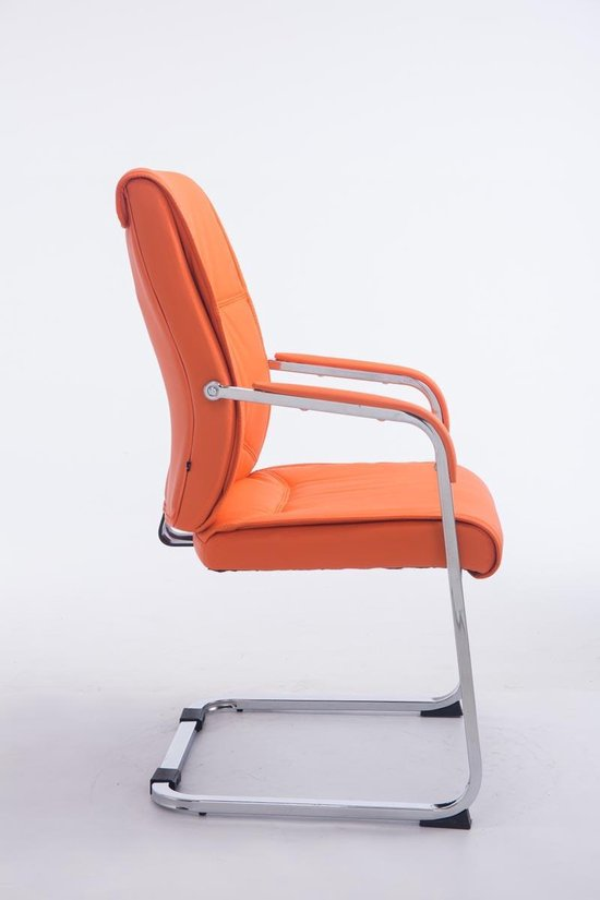 Bureaustoel | Ergonomisch | Comfortabele Zitting | Oranje