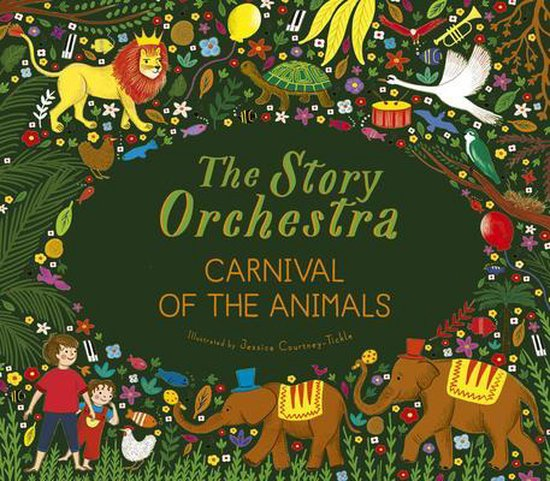 Boek cover The Story Orchestra: Carnival of the Animals van Katy Flint (Hardcover)