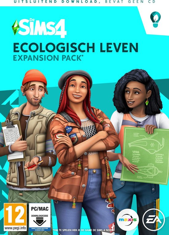 Bol Com De Sims 4 Ecologisch Leven Expansion Pack Windows Mac Code In Box Games