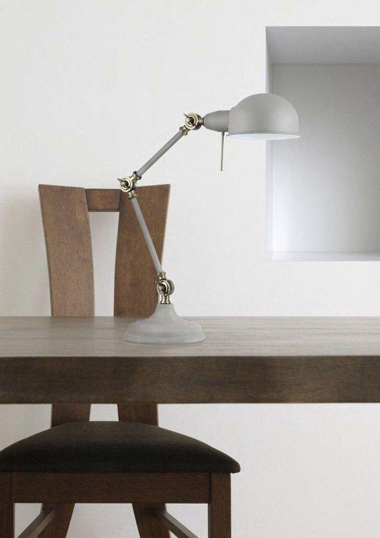 Tafellamp Zeppo 137 - 51 cm Hoog - E27 - Grijs