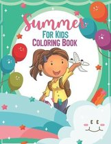 Summer For Kids Coloring Book