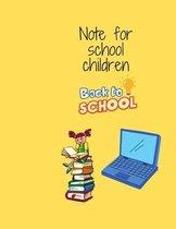 Note for school children