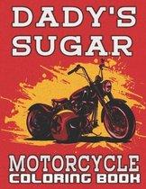 Dady's Sugar, Motorcycle Coloring Book