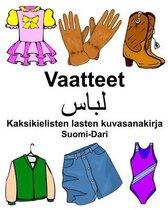 Suomi-Dari Vaatteet Kaksikielisten lasten kuvasanakirja