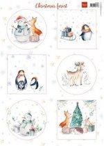 Marianne Design • Decoupage christmas forest 10 vel
