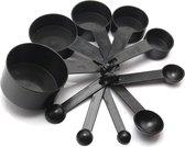 MIRO   10 verschillende maatlepel 's – Keuken meetinstrument – 10 maatbekers – Keuken apparatuur