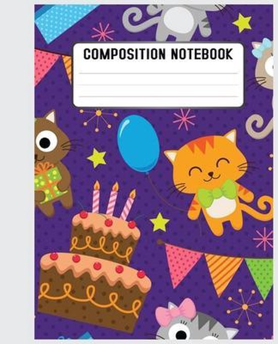 Composition Notebook: This funny cats'notebook, would make the perfect