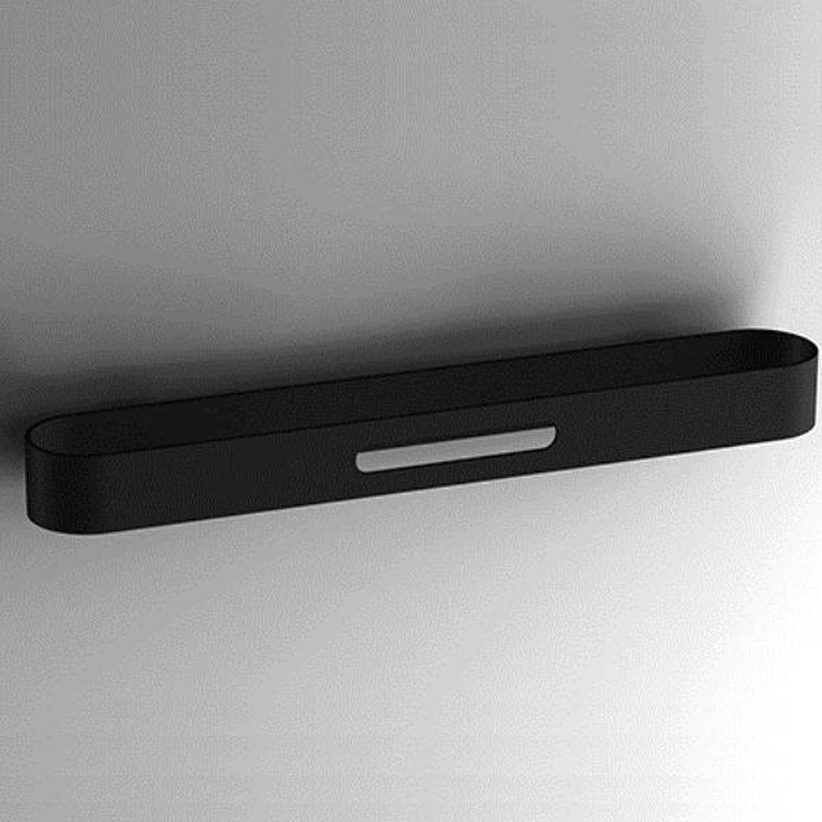 Design handdoekhouder S5 45cm zwart