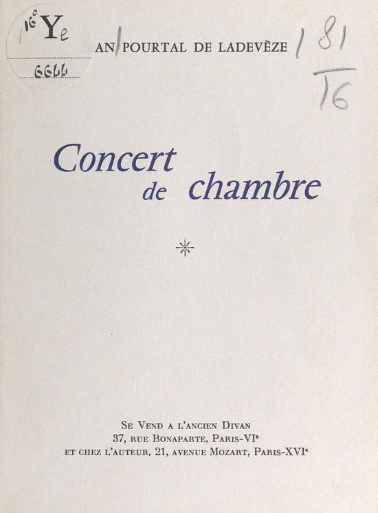 Concert de chambre