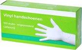 Handschoenen vinyl poedervrij 100 stuks (op voorraad) - Handschoenen vinyl poedervrij - Maat L - 100 stuks (op voorraad)