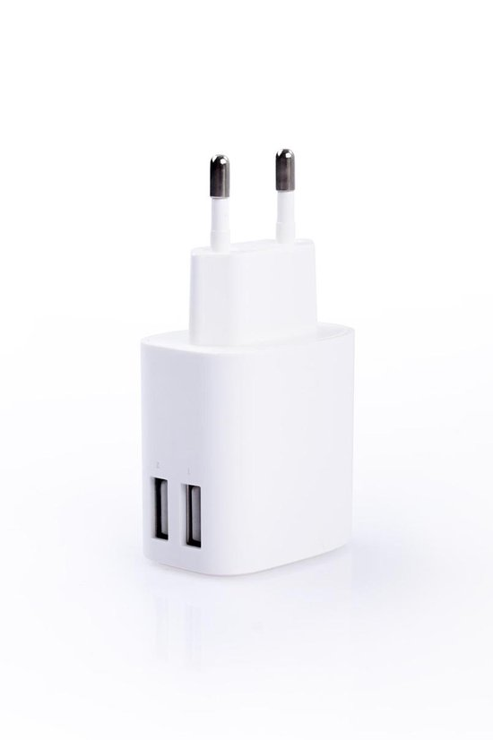 Duopack Universele Snellader - QuickCharge - 4 USB-poorten - IC Intelligent Laden - Iphone Snellader & Samsung Snellader