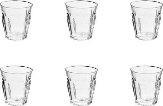 Duralex Picardie Waterglas 250 ml - Gehard glas - 6 stuks