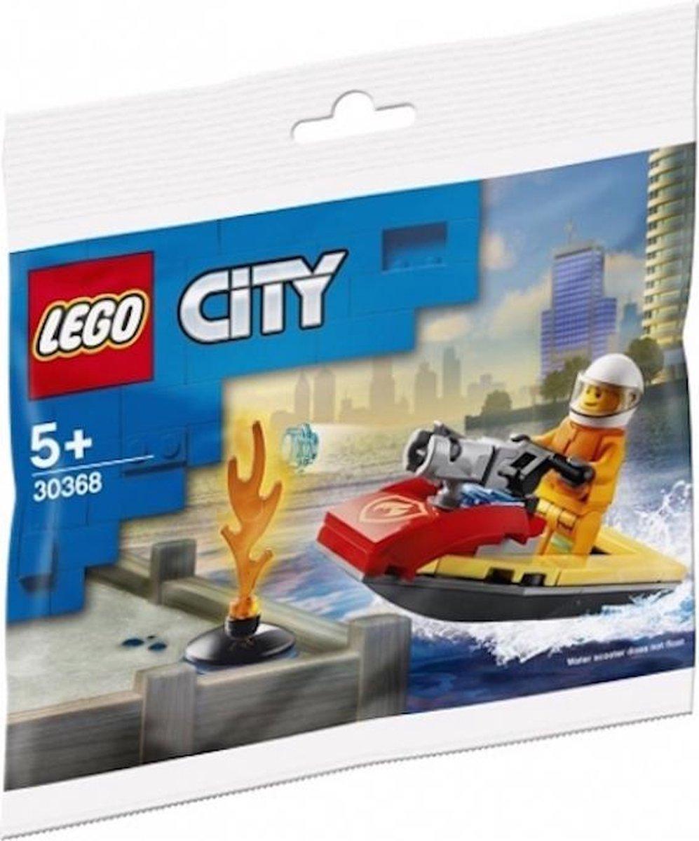 Lego city 30368 Brandweer waterscooter (polybag)