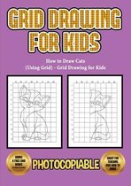 How to Draw Cats (Using Grid) - Grid Drawing for Kids