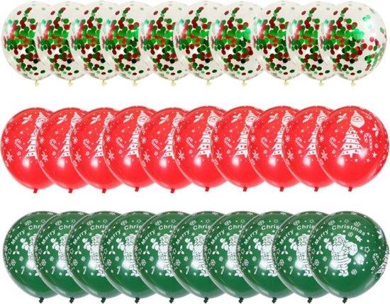 Sens Design Ballonnen – Feest versiering verjaardag – 30 stuks – Kerst