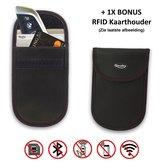 Autosleutel RFID Anti-Diefstal Beschermhoesje (1X) - Keyless Entry & Keyless Go Signaal Blokkerende Beschermhoes - Anti Diefstal & Inbraak Hoesje - Qwality4u