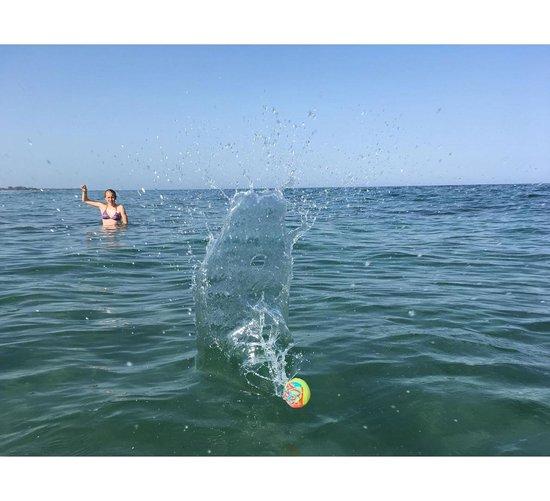 bal Wave Jumper 5,5 cm groen/oranje