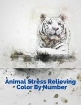 Animal Stress Relieving Color By Number