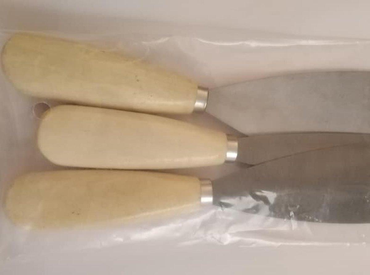 Plamuurmessen Set - 3 Stuks - Breedte 3 cm - 5 cm  - 7 cm kopen