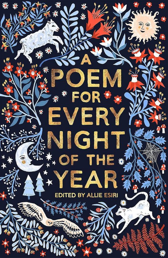 Boek cover A Poem for Every Night of the Year van Allie Esiri (Hardcover)