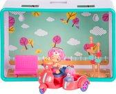 Twozies - Koffer hobbies (2 baby's en 2 exclusieve dieren + 1 medium cubie)