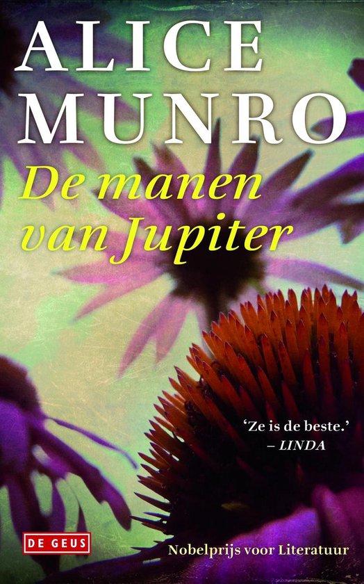 Cover van het boek 'De manen van Jupiter' van Alice Munro