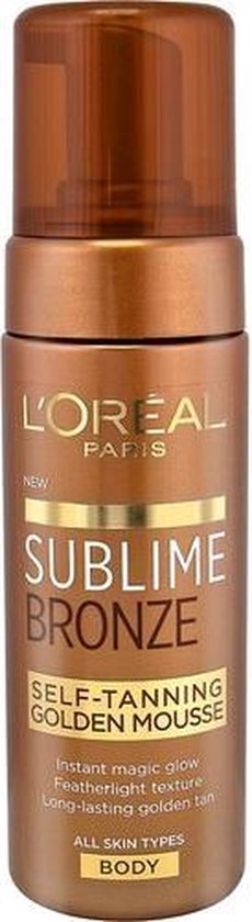 L'Oréal Paris Sublime Bronze Self-Tanning Golden Mousse