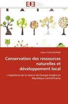 Conservation Des Ressources Naturelles Et D�veloppement Local