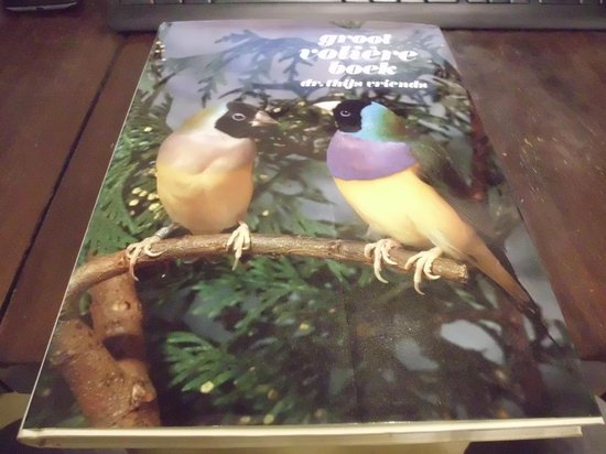 Groot voliere boek - VRIENDS |