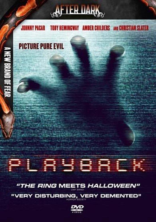 Cover van de film 'Playback'