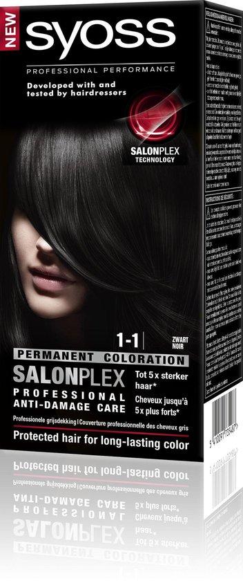 SYOSS Color baseline 1-1 Zwart - Haarverf - SYOSS